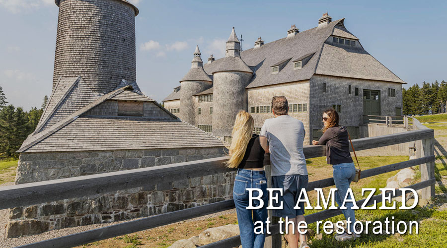 Be Amazed at the Restoration of the Silos & the Barn