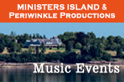Music Events on Ministers Island