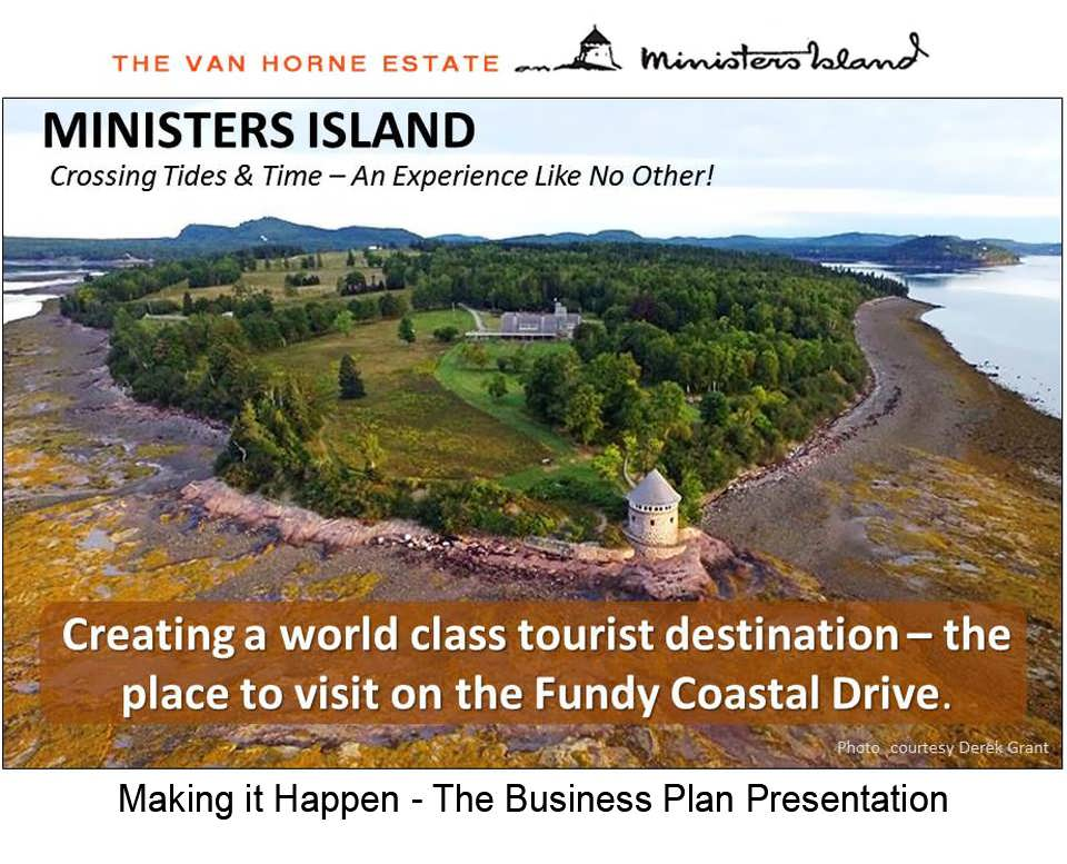 Ministers Island New Business Plan