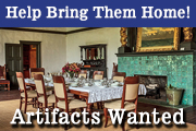 Donate Artifacts and Furnishings